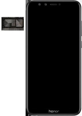 Huawei Honor 9 Lite - SIM-Karte - Einlegen - 3 / 8