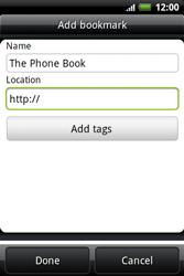 HTC A510e Wildfire S - Internet - Internet browsing - Step 9