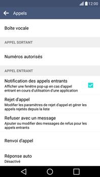 LG H365 G4 Stylus - Messagerie vocale - configuration manuelle - Étape 5
