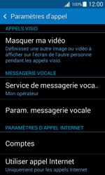 Samsung G357 Galaxy Ace 4 - Messagerie vocale - Configuration manuelle - Étape 5