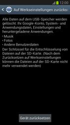 Samsung Galaxy Note 2 - Fehlerbehebung - Handy zurücksetzen - 1 / 1