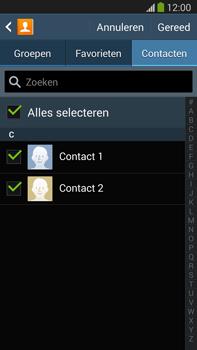 Samsung N9005 Galaxy Note III LTE - Contactgegevens overzetten - delen via Bluetooth - Stap 7
