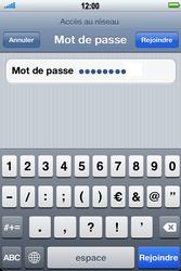 Apple iPhone 4 - Wifi - configuration manuelle - Étape 5
