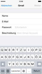 Apple iPhone 5C iOS 8 - E-Mail - 032a. Email wizard - Gmail - Schritt 8