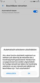 Huawei P20 Pro - Netwerk - Handmatig een netwerk selecteren - Stap 7
