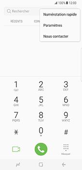 Samsung Galaxy S8 - Messagerie vocale - configuration manuelle - Étape 6