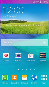 Samsung Galaxy Note 4 - internet - hoe te internetten - stap 1