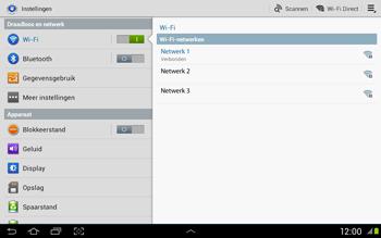 Samsung N8020 Galaxy Note 10-1 LTE - WiFi - Handmatig instellen - Stap 7