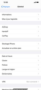 Apple iPhone 11 Pro Max - Prise en main - Comment ajouter une langue de clavier - Étape 4