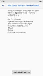 Nokia 8 - Android Pie - Gerät - Zurücksetzen auf die Werkseinstellungen - Schritt 8