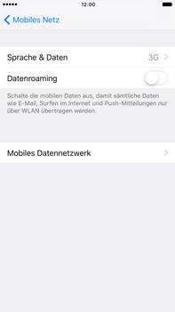 Apple iPhone 7 Plus - Netzwerk - Netzwerkeinstellungen ändern - 1 / 1