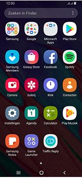 Samsung galaxy-a40-dual-sim-sm-a405fn - Contacten en data - Contacten overzetten via Bluetooth - Stap 3