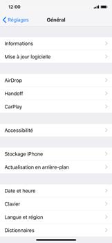 Apple iPhone X - iOS 12 - Appareil - Mises à jour - Étape 5