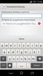 Sony D2203 Xperia E3 - E-Mail - Konto einrichten - Schritt 18