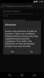 Sony Xperia V - Internet et roaming de données - Configuration manuelle - Étape 7