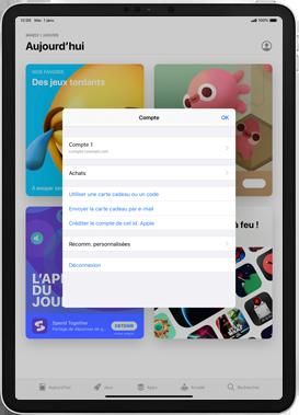 Apple iPad Pro 12.9 (1st gen) - ipados 13 - Applications - Comment vérifier les mises à jour des applications - Étape 6