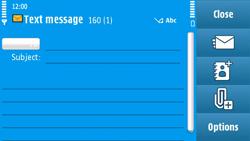 Nokia N97 - MMS - Sending pictures - Step 9