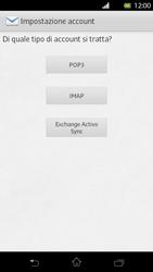 Sony Xperia T - E-mail - Configurazione manuale - Fase 7