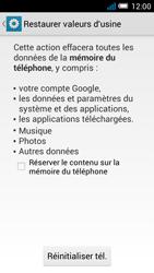 Alcatel Pop C7 - Téléphone mobile - réinitialisation de la configuration d