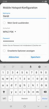 Samsung Galaxy A80 - WiFi - So aktivieren Sie einen WLAN-Hotspot - Schritt 9
