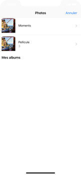 Apple iPhone XR - E-mail - Envoi d
