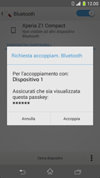 Sony Xperia Z1 Compact - Bluetooth - Collegamento dei dispositivi - Fase 7