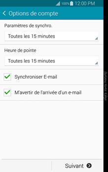 Samsung Galaxy Note Edge - E-mail - configuration manuelle - Étape 16