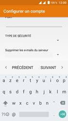 Crosscall Trekker M1 Core - E-mails - Ajouter ou modifier un compte e-mail - Étape 13