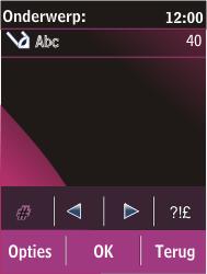 Nokia C2-03 - MMS - afbeeldingen verzenden - Stap 11