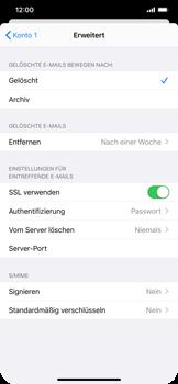 Apple iPhone XS Max - iOS 14 - E-Mail - Manuelle Konfiguration - Schritt 23