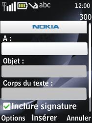 Nokia 6700 classic - E-mail - envoyer un e-mail - Étape 6