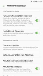Samsung Galaxy S7 - Android Nougat - Anrufe - Anrufe blockieren - Schritt 6