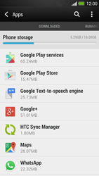HTC One - Applications - How to uninstall an app - Step 5