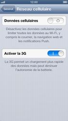 Apple iPhone 5 - Internet et roaming de données - Configuration manuelle - Étape 6