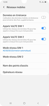 Samsung Galaxy A50 - Réseau - activer 4G - Étape 8