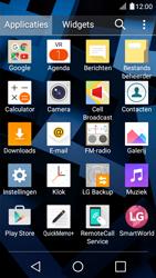 LG K4 - E-mail - Account instellen (IMAP zonder SMTP-verificatie) - Stap 3