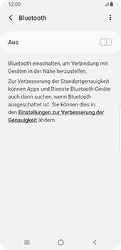 Samsung Galaxy S9 - Android Pie - Bluetooth - Verbinden von Geräten - Schritt 6