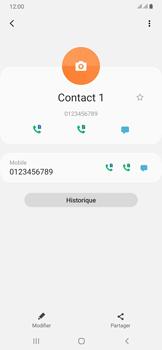 Samsung Galaxy A50 - Contact, Appels, SMS/MMS - Ajouter un contact - Étape 9