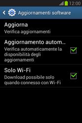 Samsung Galaxy Fame Lite - Software - Installazione degli aggiornamenti software - Fase 7
