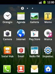 Samsung Galaxy Pocket - Rete - Selezione manuale della rete - Fase 3