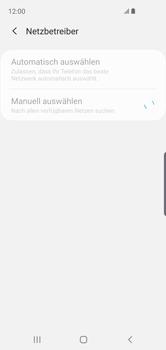 Samsung Galaxy S10e - Netzwerk - Manuelle Netzwerkwahl - Schritt 9