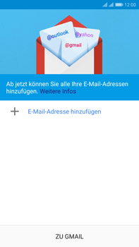 Huawei Mate 9 Pro - E-Mail - Konto einrichten (gmail) - 1 / 1