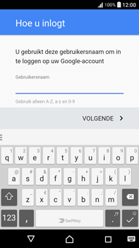 Sony Xperia XA Ultra (F3211) - apps - account instellen - stap 11