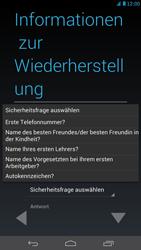 Huawei Ascend Mate - Apps - Konto anlegen und einrichten - Schritt 12