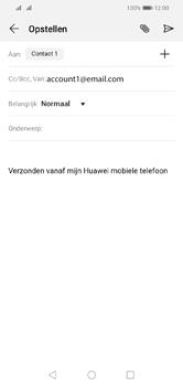 Huawei Y5 (2019) - E-mail - e-mail versturen - Stap 7