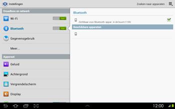 Samsung P5100 Galaxy Tab 2 10-1 - Bluetooth - koppelen met ander apparaat - Stap 8
