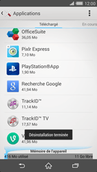 Sony Xperia Z2 - Applications - Comment désinstaller une application - Étape 8