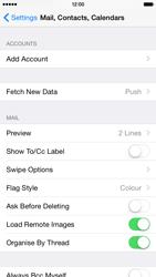 Apple iPhone 6 Plus - E-mail - Manual configuration IMAP without SMTP verification - Step 5