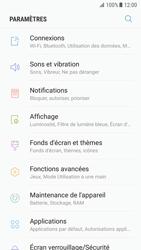 Samsung Galaxy S7 - Android N - Internet et roaming de données - Comment vérifier que la connexion des données est activée - Étape 4