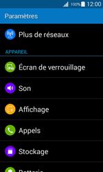 Samsung G357 Galaxy Ace 4 - Réseau - Activer 4G/LTE - Étape 4
